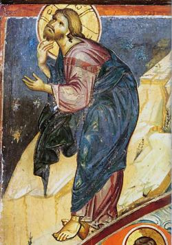 Affresco, monastero di Vatopedi, Monte Athos