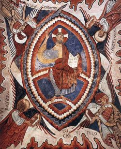 Pittore romanico catalano, Cristo Pantocratore, collegiata de San Isidoro, Leon