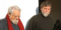 Il fondatore fr. Enzo Bianchi e il priore fr. Luciano Manicardi