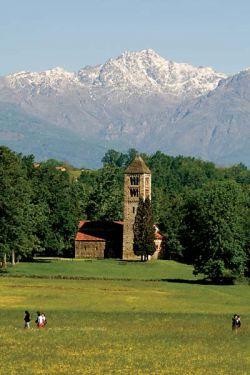 Bose, veduta a nord del monastero
