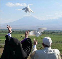 Karekin II, Catholicos di tutti gli Armeni e Papa Francesco