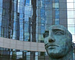 Tindaro, Parigi La Défense 1977 - bronzo