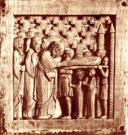 Avorio, Scuola di Metz, X secolo
