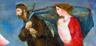 Trento Longaretti; Famiglia del musicante alla marina