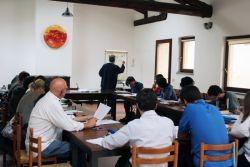 Participantes no curso de Hebraico