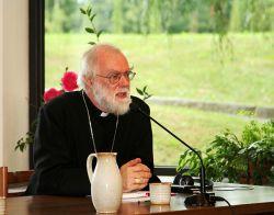 L'arcivescovo di Canterbury Rowan Williams