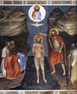 Giusto de' Menabuoi, Battesimo di Cristo, 1378 circa, Battistero, Padova