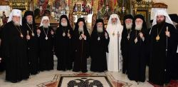 I capi delle chiese ortodosse autocefale riunite a Creta