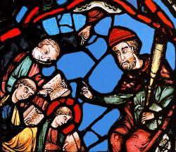 Chartres, vetrata