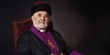 Sua santità Mar Dinkha IV, Catholicos-Patriarca della Chiesa Assira d'Oriente