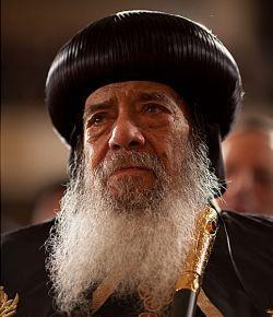 il Patriarca Shenuda III