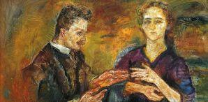 Kokoschka, Hans Tietze and Erica Tietze, 1909