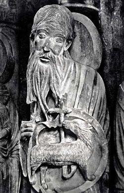 Scultura del portale nord della cattedrale di Chartres