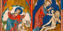 Salterio britannico, 1300-1310 circa, The Morgan Library & Museum