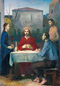 SILVIO CONSADORI, Emmaus