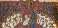 Apocalisse (particolare), Bibbia di Bologna, MS 2705, foglio 476v, 1368