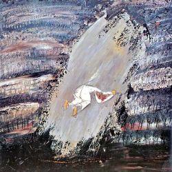 WILLIAM CONGDON, Getsemani, olio su faesite, 1960