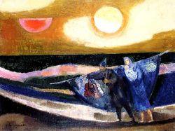 Olio su tela, cm 50x65  1983 -1984