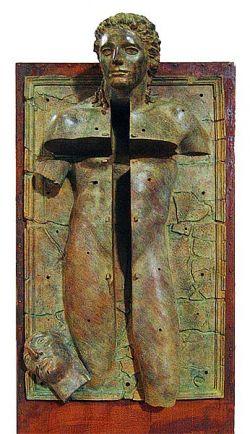 Studio per la Porta della Resurrezione - Basilica S. Maria degli Angeli e dei Martiri - Roma  2006