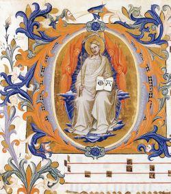 Lorenzo Monaco, Antifonario (Cod. Cor. 1, folio 102), 1396.