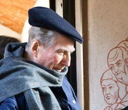 Il Cardinale Carlo Maria Martini durante l'ultima sua visita alla nostra comunità