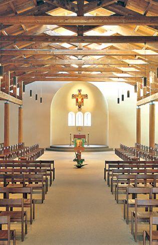 Bose, église monastique