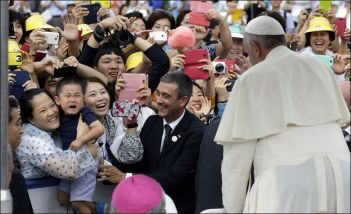 Visita di papa Francesco in Corea del sud