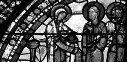 Maria Apostola apostolorum, vetrata della Cattedrale di Chartres, navata destra.