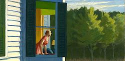 Edward Hopper, Mattino a Cape Cod, olio su tela, 86.7 x 102.3 cm., 1950, Smithsonian American Art Museum, Washington.