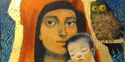 Madonna del Buon Discernimento donata per la chiesa di Cellole da Arcabas e sua moglie Jacqueline l'8 febbraio 2013
