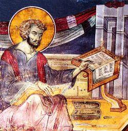 EMANUEL PANSELINOS, affresco della chiesa del Protaton - Monte Athos - Grecia