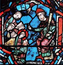 Vetrata, Chartres