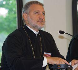 Il metropolita di Bursa, Elpidophoros Lambriniadis, del Patriarcato di Costantinopoli