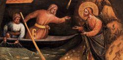 Chiamata degli apostoli Pietro e Andrea, Lorenzo Veneziano (1370 ca)