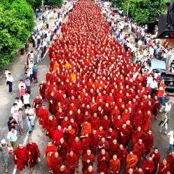 Birmania, settembre 2007