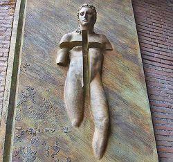 IGOR MTORAJ, Porte della Basilica di Santa Maria degli Angeli e dei Martiri  - Roma