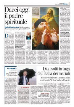 © La Stampa, 19 settembre 2008, Cultura p.37
