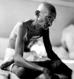 Mohandas K. Gandhi, (1869 - 1948)