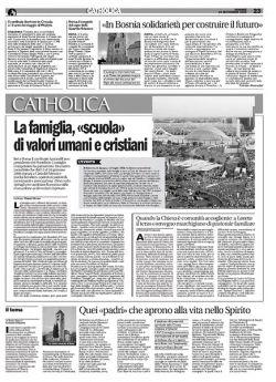© Avvenire, 19 settembre 2008, Catholica 23