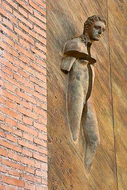 Porta della Basilica di Santa Maria degli Angeli e dei Martiri, Roma