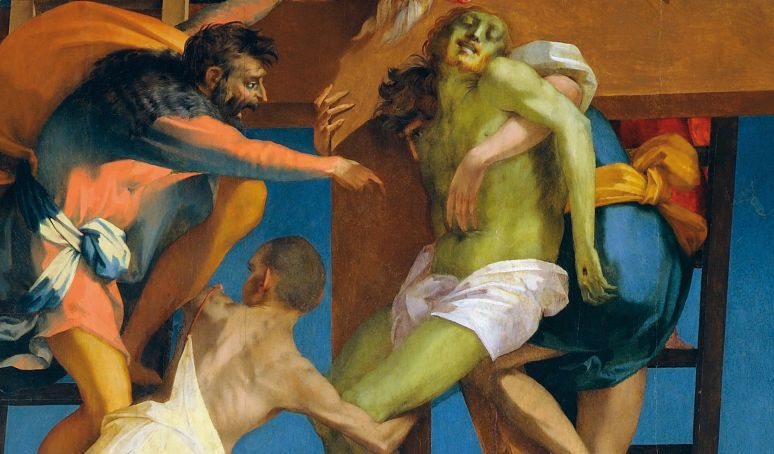 Rosso Fiorentino, Deposizione di Volterra, 1521.