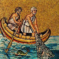 Mosaico - VI sec. S. Apollinare in classe - Ravenna - Italia