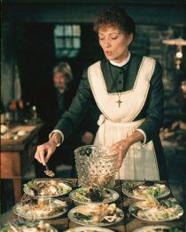 Una scena del film, Il pranzo di Babette