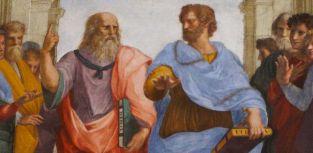 Raffaello Sanzio, Scuola di Atene (particolare), Stanze Vaticane