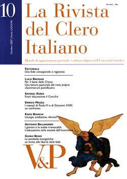 Ottobre 2007 -  La Rivista del Clero Italiano - © 2007 Vita e Pensiero
