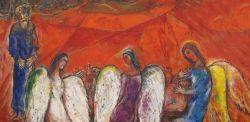 Marc Chagall, Accoglienza di Abramo