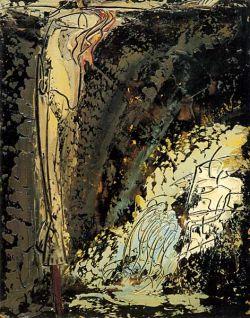 Oil on hardboard, 55x42 cm