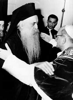 ATHENAGORAS I and PAUL VI