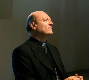 Le Cardinal Gianfranco Ravasi