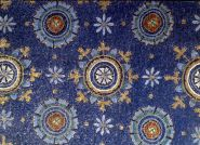 Mausoleo di Galla Placidia, Ravenna, particolare